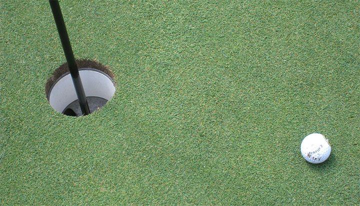 Golf Hole Poop