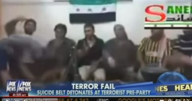 Syria terrorist suicide belt