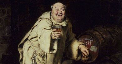 13 historical paintings of monks getting wrecked on booze