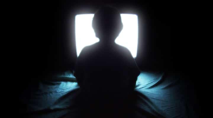 smart tv - just like george orwell said