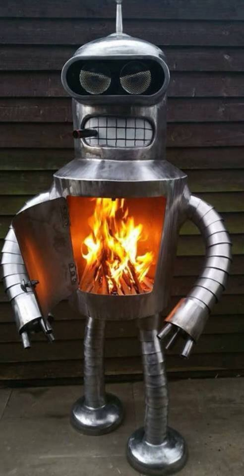 futurama bender heater DIT