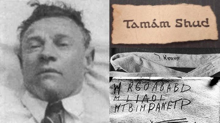 tamam shud murder notes