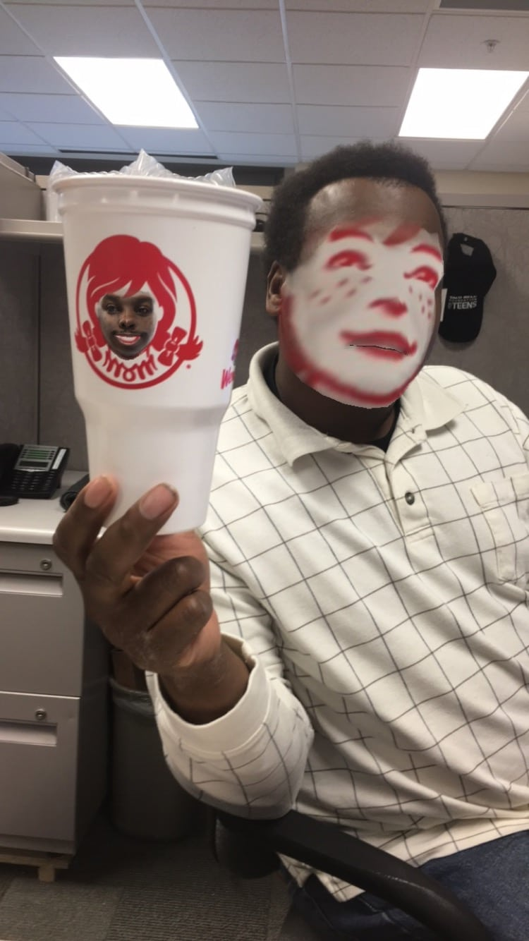faceswap wendys cup