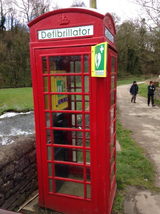 phonebox defibrillator