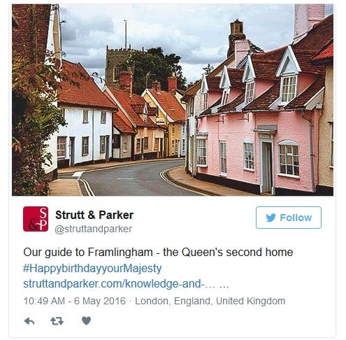 Strutt & Parker Queen Framlingham