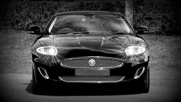 Jaguar sports car