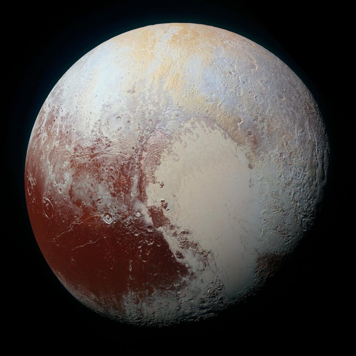 Latest high resolution photo of Pluto