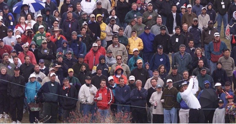 Tiger Woods in 2002