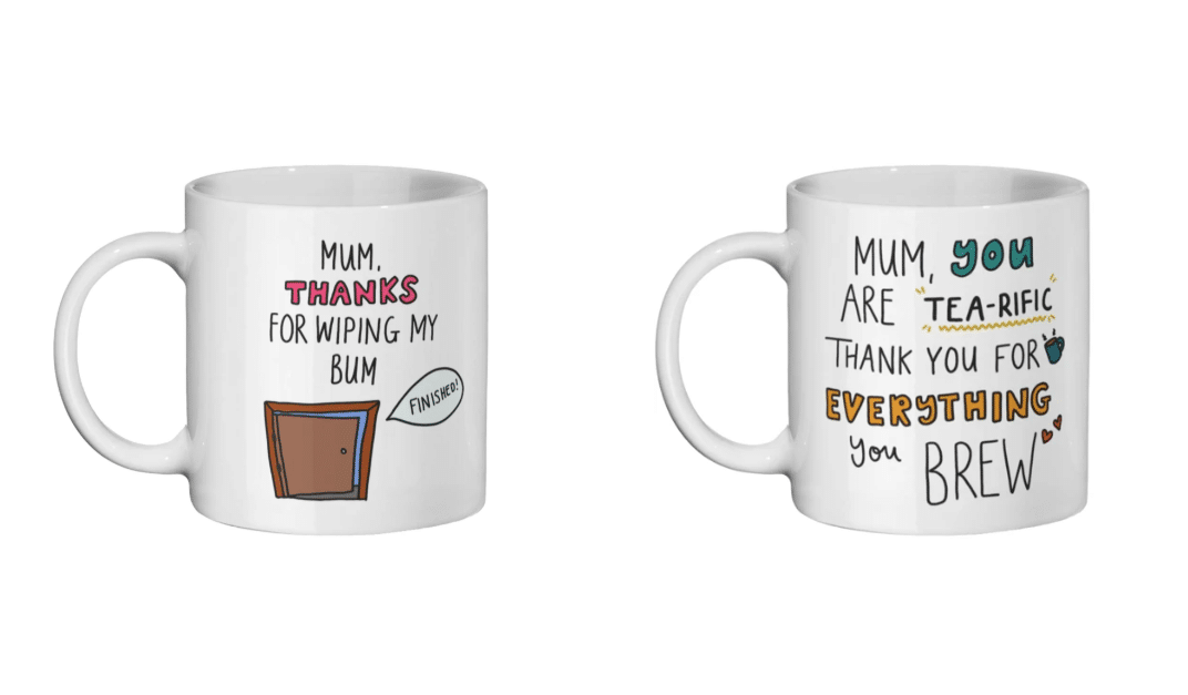 Get your mum a cool Mother's Day mug