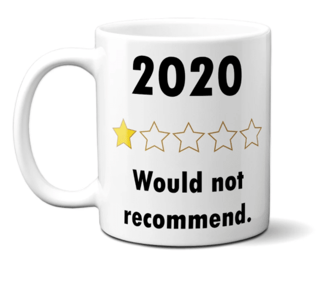 Brutal but honest: the 2020 Review mug