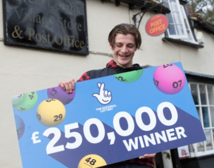 Digger driver scoops £250,000 on National Lottery scratchcard
