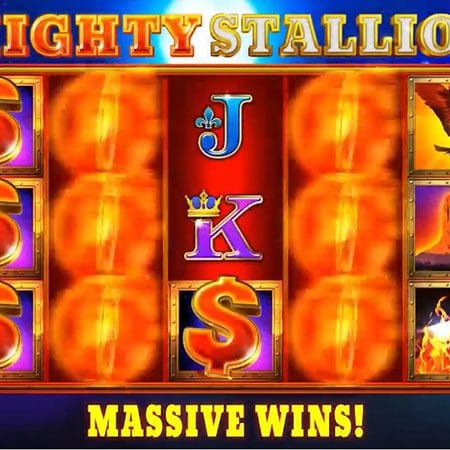 Mighty Stallion Hold and Win slot release by iSoftBet