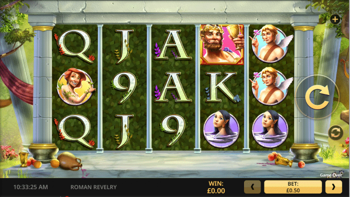 Roman Revelry slot game